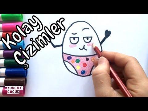 Sevimli Karpuz Adam Nasil çizilir çocuklar Için çizim çizimlerim