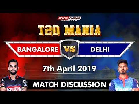 Bangalore vs Delhi T20 | Live Scores and Analysis | SportsFlashes