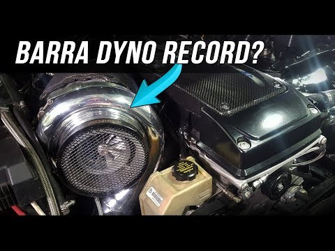 40+psi BOOST Ford Barra dyno tuning