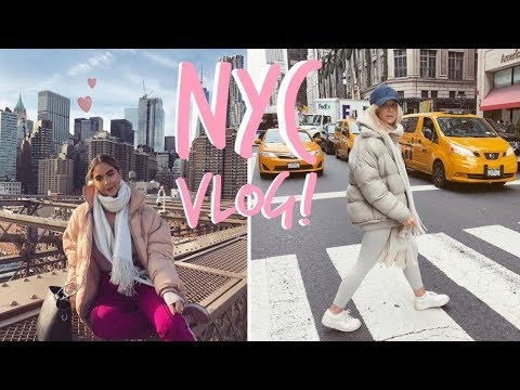 NEW YORK! | VLOG! | Sophia and Cinzia thumbnail