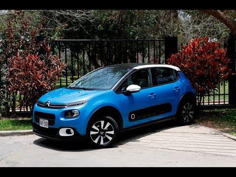 Citroën New C3 2017 - Prueba de manejo
