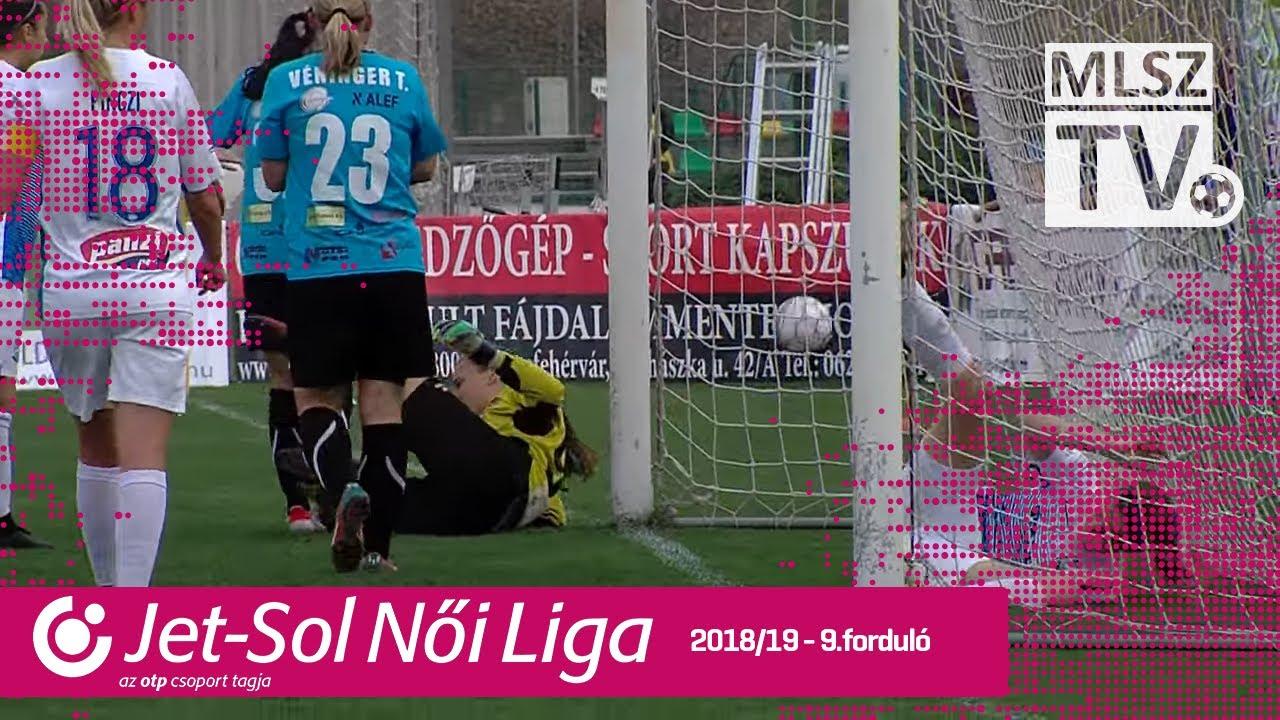 Astra-ALEF HFC - MTK Hungária FC | 1-0 | JET-SOL Liga | 9. forduló | MLSZTV