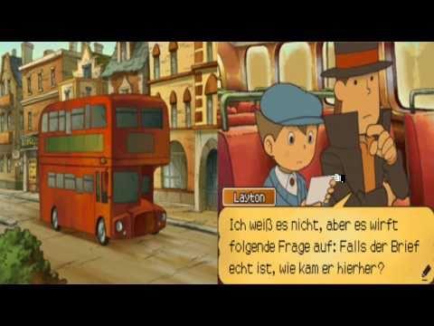 Let´s play Professor Layton und die verlorene Zukunft German #1
