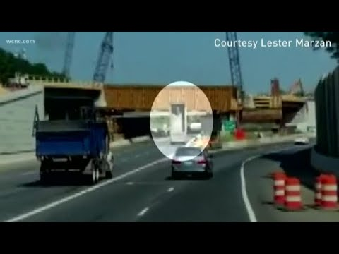 I-77 dump truck crash caught on camera