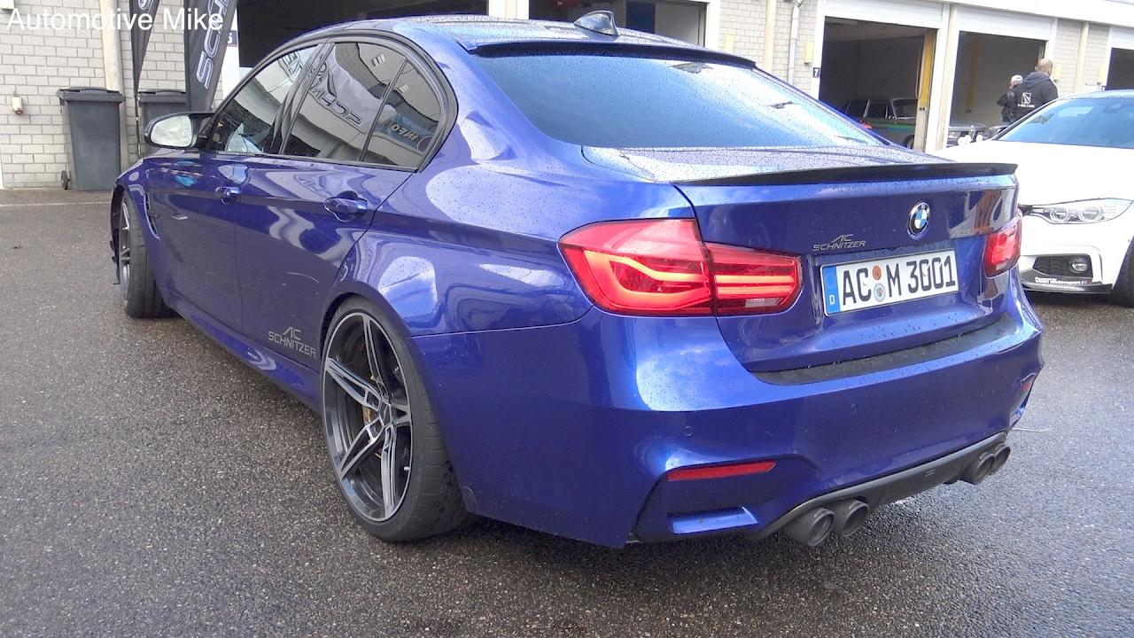 AC Schnitzer ACS3 SPORT BMW M3 F80 start up & LOUD revs!