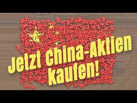 Jetzt China-Aktien kaufen!