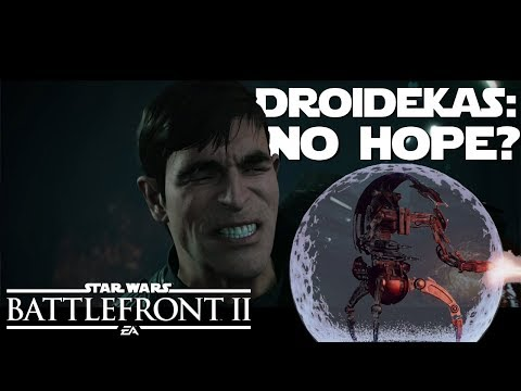 DROIDEKAS: Don't Get Your Hopes Up | Star Wars Battlefront 2 thumbnail
