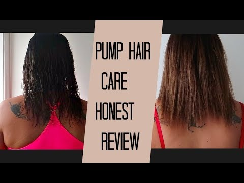 Honest Review Of Pump Hair Care Youtube