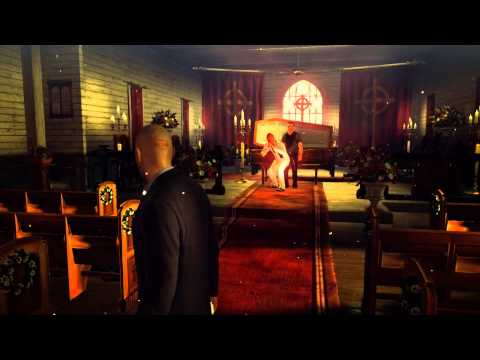 Hitman Absolution: How To Glitch Out Church Scene With Skurky.