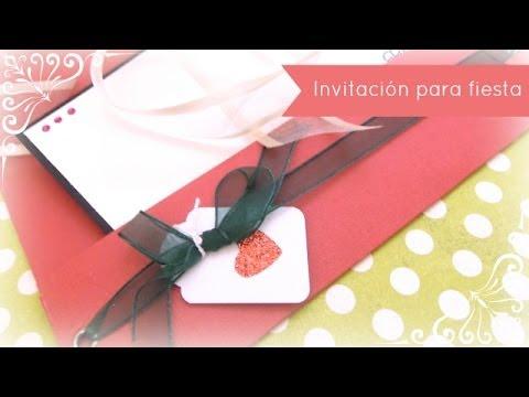Cómo Hacer Una Invitación Para Una Fiesta Navideña Dn4 2013