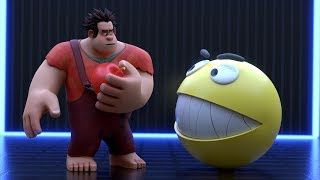 Pacman vs Wreck it Ralph - Ralph breaks the internet Video
