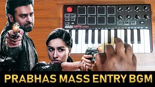 Saaho - Mass Interval Scene Ringtone Bgm By Raj Bharath | Download Link | Prabhas | Ghibran