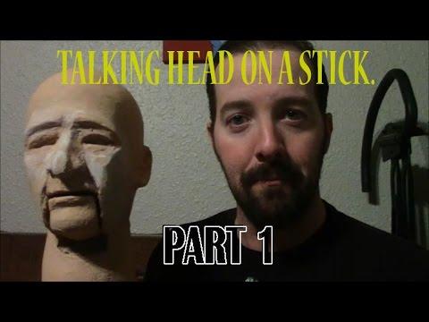 Head on a stick part 1: Making a ventriloquist dummy.