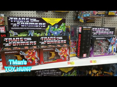 Walgreens, Walmart, Ross And Gamestop: TMan's TOY HUNT #144