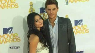Zanessa Red Carpet - 2010 Mtv Movie Awards