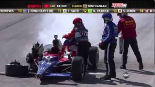 Dhan Wheldon rest in peace ( 1978-2011 )  Indycar