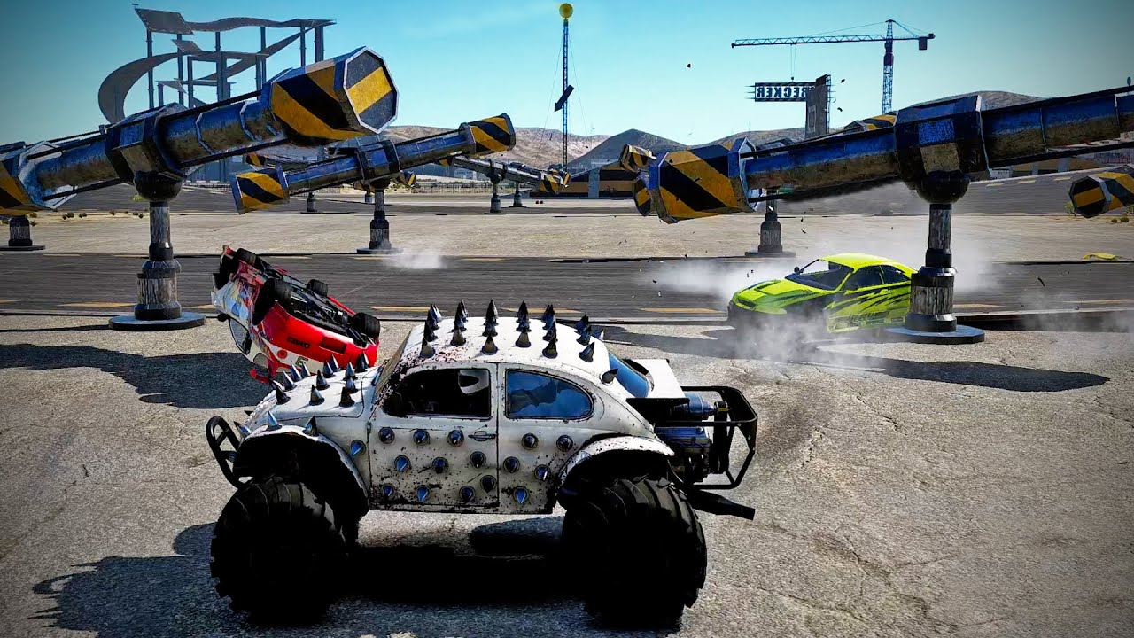 The New Wrecking Playground in Wreckfest!