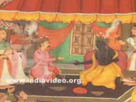 Lord Krishna painting from Mahabharata