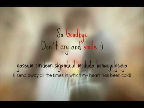 Jonghyun - So Goodbye lyrics video (Romanization+EngSub)