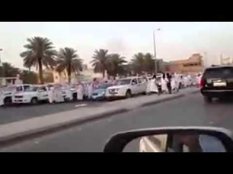 مظاهرات القصيم Youtube