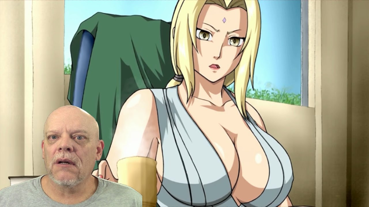 tsunade boobs