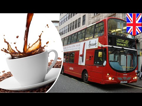 Fuel from coffee: London city buses to be powered by new coffee biodiesel - TomoNews