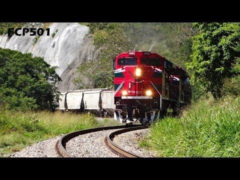 """Ferromex y Ferrosur: Varios Trenes en Tuxpan Jalisco, Distrito Sayula """"I"""""""
