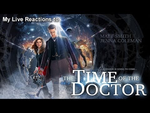 Reaction Vid!  Doctor Who: The Time of The Doctor
