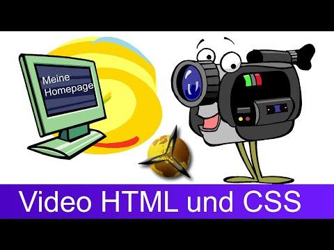 Video Einbinden: HTML & CSS Code Für Die Homepage
