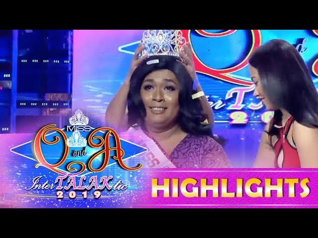 It's Showtime Miss Q & A: Juliana Centino Rabia is the new reigning Miss Q and A