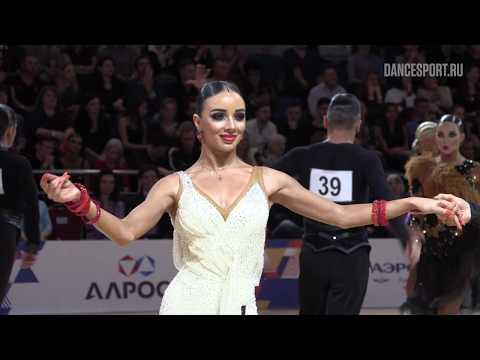 Matvey Shevelev - Vitalina Gigashvili, Cha-Cha-Cha 1/4 | 2019 FDSARR Championship Amateur Latin