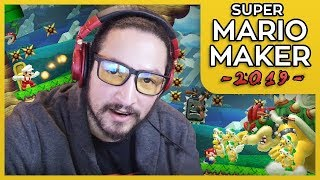HAD TO GO BACK TO BASICS TO GET GOOD - SUPER MARIO MAKER