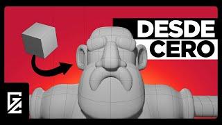 ¿Cómo hacer un personaje 3D?   Tutorial de Modelado en Blender  