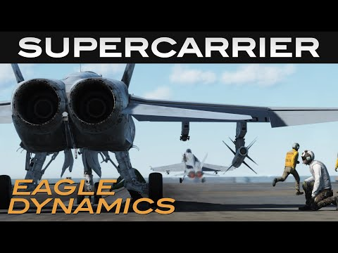 DCS: Supercarrier Preview Video