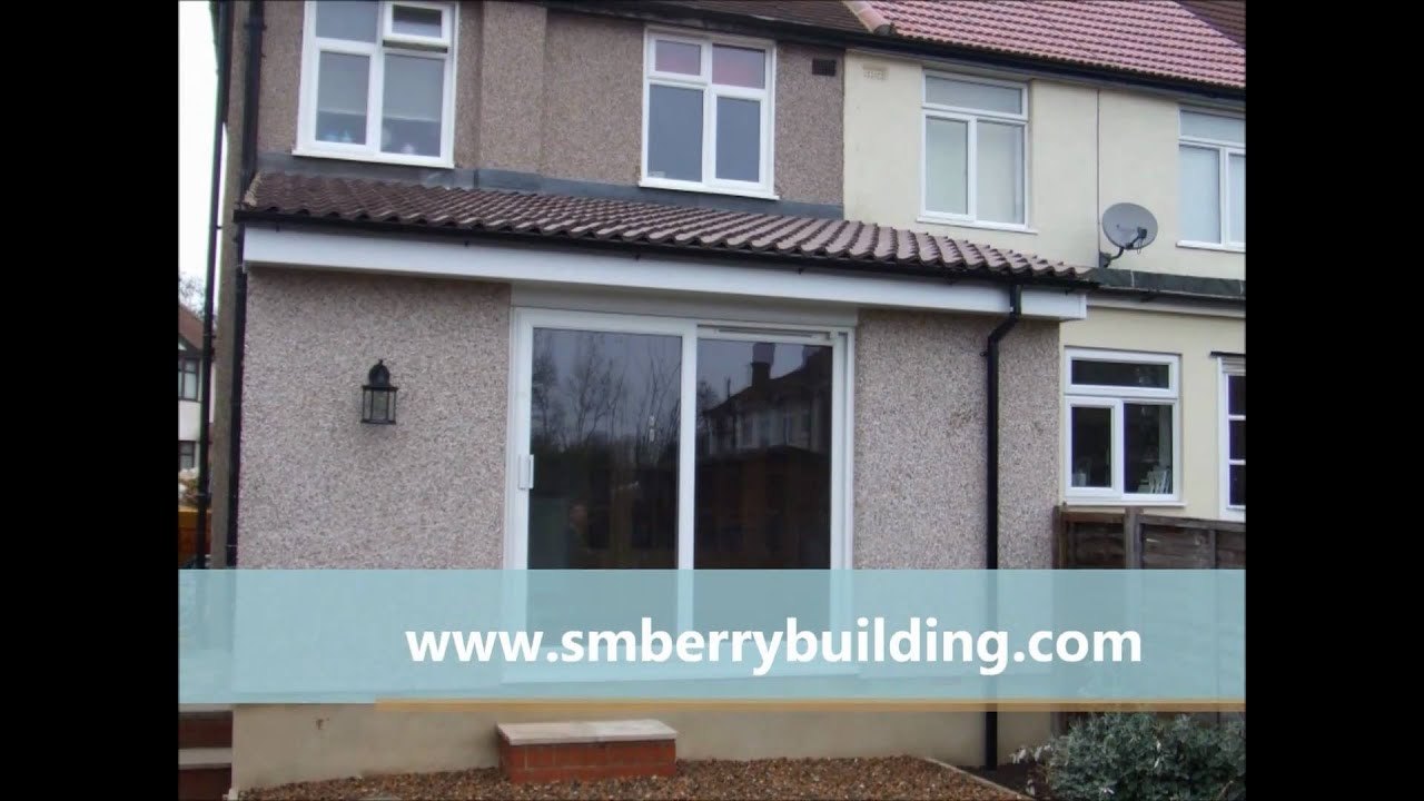 How To Build A Single Y Home Extension In Sidcup Kent Six Weeks You