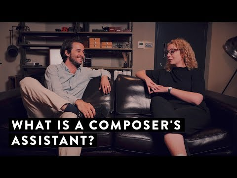 Interview: What Is A Composer's Assistant?