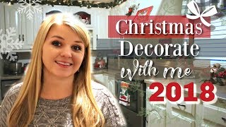 Decorate My Kitchen For Christmas 2018 | Rustic Christmas Decorate With Me 2018  | Krafts by Katelyn
