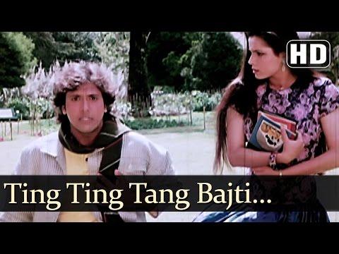 Kiss and Tell - Govinda - Neelam - Gharana - Bollywood Songs - Amit Kumar & Alka Yagnik
