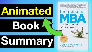The Personal MBA by Josh Kaufman | Animated Book Summary