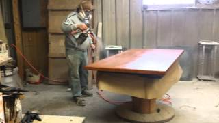 Refinishing A Cherry Table Top Timeless Arts Refinishing