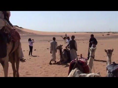 MEROE PYRAMIDS - THE SUDAN
