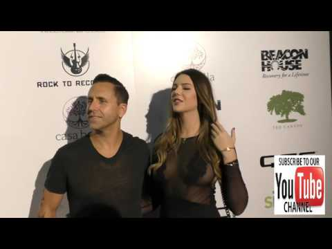 Wesley Geer and Zita Vass arriving to Rock For Recovery at the Fonda Theatre in Hollywood