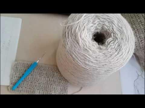 Вязание крючком видео теплое платье