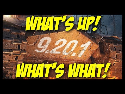 ► 9.20.1 - What's New and What is What? - World of Tanks Patch 9.20.1 Update Review