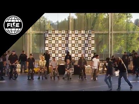 FISE EDMONTON 2017: BMX Freestyle Flat Pro semi final - REPLAY