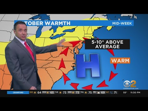 New York Weather: CBS2 Forecast At 11 P.m.