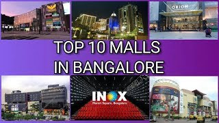 TOP 10 MALL IN BANGALORE