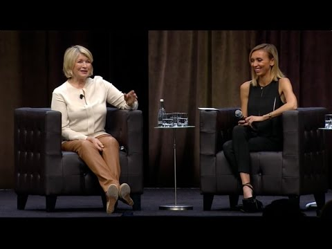 Giuliana Rancic Interviews Martha Stewart at Intuit QuickBooks Connect - Martha Stewart