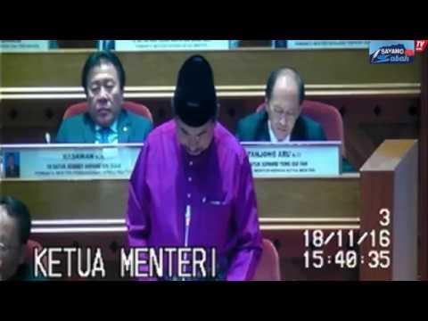 PEBENTANGAN BAJET 2017 Dewan Undangan Negeri Sabah