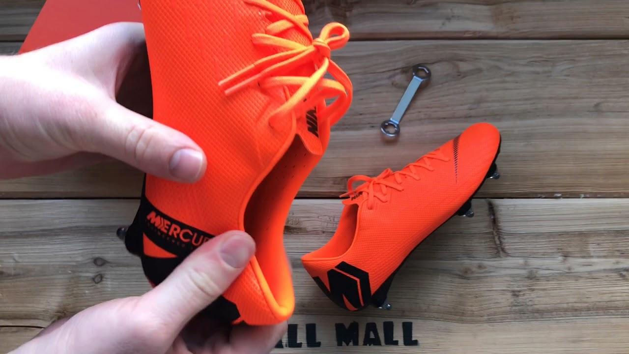 31553918 Обзор бутс Nike Mercurial Vapor 12 Academy SG-PRO AH7376-810 - YouTube